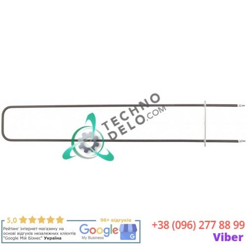 Тэн (1080Вт 230В) 715x130мм фланец 160x24мм диаметр трубки d-9мм 9171185 для печки под пиццу Cuppone
