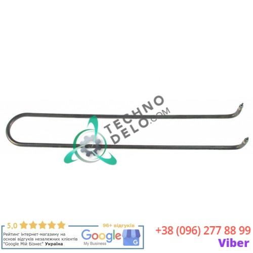 Тэн (1000Вт 400В) 470x78x34мм трубка d-8,5мм M4 тип сухой нагреватель SS2027 для профессиональной сковороды Nayati