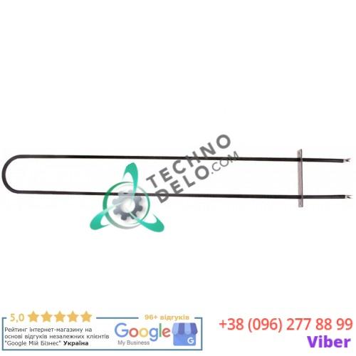 Тэн (1005Вт 115В) 660x88мм фланец 124x30мм d-8,5мм тип сухой нагреватель 74401130 для Moretti PIZZY MD 105.105