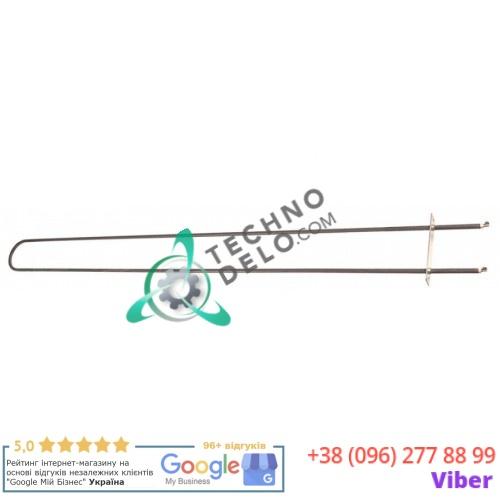 Тэн (1275Вт 115В) 1045x89мм трубка d-8.5мм фланец 124x30мм 74420600 печи для пиццы Moretti PIZZY MD 65.105 и др.