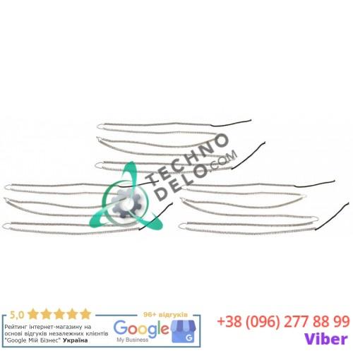 Спираль нагревательная нижняя 54600290 66009700 для пицца печи Moretti AHB/AHC/AHK и др.