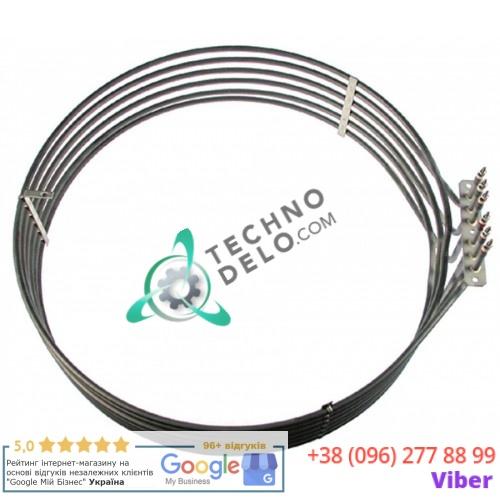 Тэн (15000Вт 230В) D-512/530мм L-545мм H-130мм M4 R65011250 для печи Ambach, Lainox, Mareno, Olis и др.