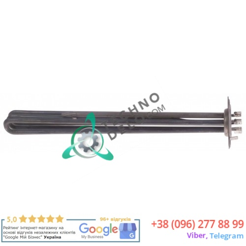 Тэн (10500Вт 230В) 390x35x35мм трубка d-8,5мм 0E5953 0L1852 посудомоечной машины Electrolux, Zanussi RT100ED и др.