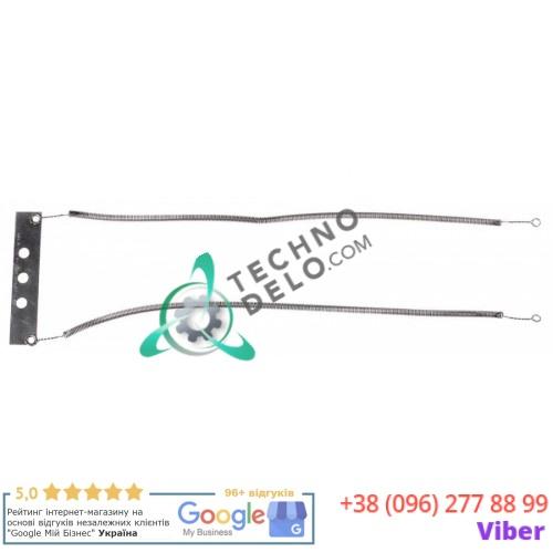 Спираль нагревательная двойная 1000Вт 230В 905590 с контактной пластиной  профессионального тостера Silanos F3/F6/FA3