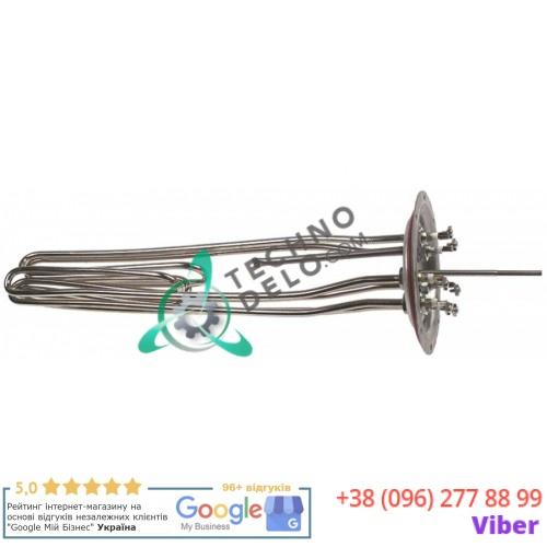 Тэн (10050Вт 230В) 470x165x80мм трубка d-9мм монтажный ø118мм MN9-7.2.0/01/C02 MN9-72001 MN972001 для Lozamet