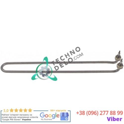 Тэн 1000Вт 380В 395x50мм M4 трубка d-8,3мм резьба M14x1,5 сухой нагреватель 0K6869 для сковороды Electrolux, Zanussi