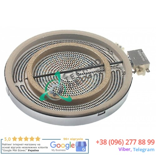 Конфорка EGO 10.51211.404 D-230мм 2200Вт 230В плиты Ambassade, Electrolux и др.