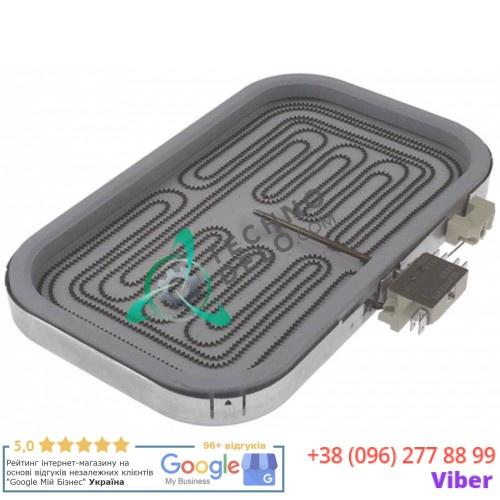 Нагреватель EGO 1057413204 2300Вт 230В 320x230x35мм 1E409101 для гриля Palux HL-EM
