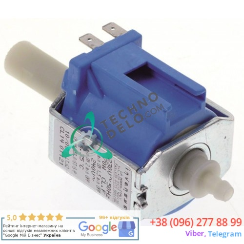 Насос вибрационный Eaton (Invensys) CP.04.158.0/ST/S/P 230В 70Вт вход 6мм выход 1/8 IG L-123мм