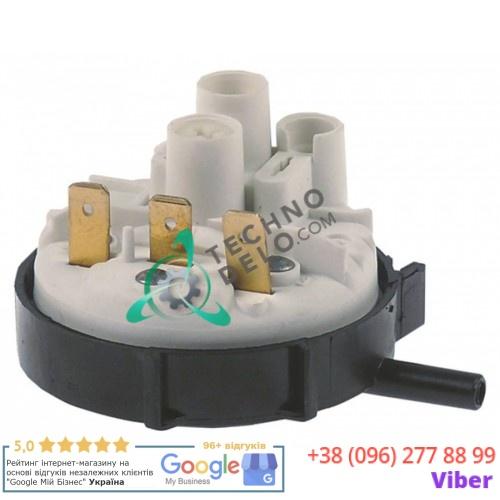 Прессостат (реле давления) диапазон 35/15 мбар присоединение 6 мм ø 58мм