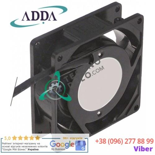 Вентилятор обдува ADDA 80x80x25мм 230VAC 13/14Вт 006125 203152 для Electrolux, MKN, SPM и др.
