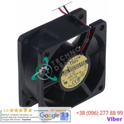 Вентилятор (кулер) ADDA AD0612HB-A71GL 60x60x25мм 12VDC 2,28Вт