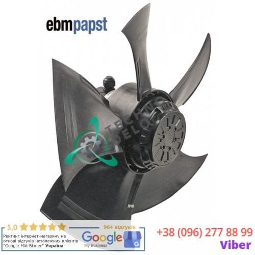 Вентилятор EBM-Papst A4D500-AM03-01 400В 720Вт 1390об/мин D-500мм 5 лопастей 70705 для Foinox, I Ovens, Mito и др.
