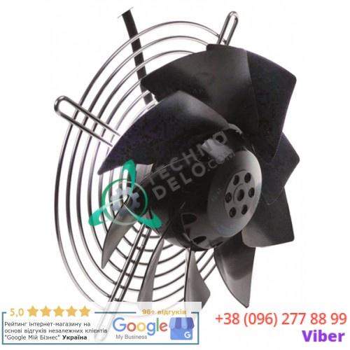 Вентилятор EBM-Papst A2E200-AI38-10 D-200мм 230В 64Вт 2600 об/мин 32M6610 019027 19027 для ANGELO-PO, SAGI и др.