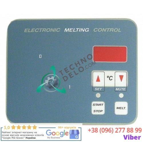 Стикер обозначения кнопок 2007069 панели управления для фритюрницы Giorik 15FE-C/20FE-C/210FE-C/215FE-C и др.