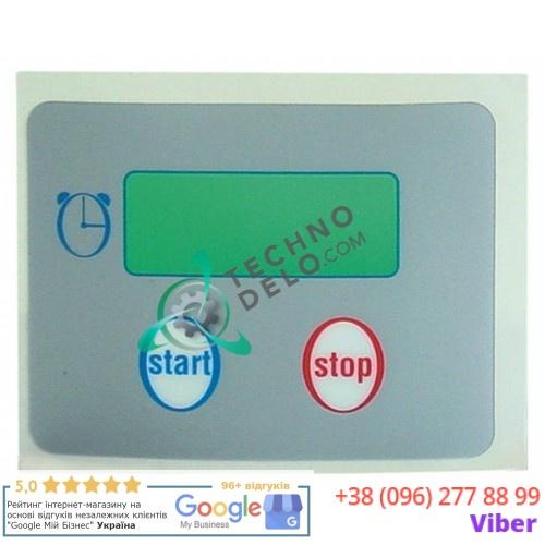 Стикер обозначения кнопок панели управления RC01016000 гриль-саламандера Tecnoinox QSE40