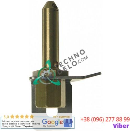 Горелка конфорочная 2-х пламенная подключение к газу 6мм для Cooking Systems, Eurast, Gico, Macfrin, MasBaga, Nayati