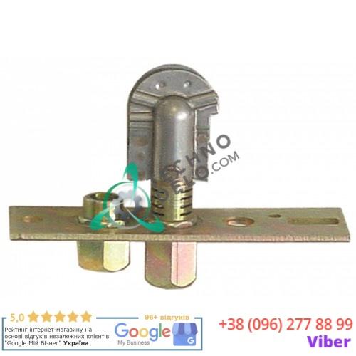 Горелка Polidoro 3-х пламенная подключение к газу 6мм 7090027 для газового гриля-саламандры Giorik SG520 и др.