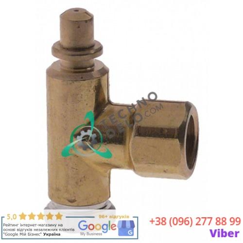 Горелка PRO-GAS (нижняя часть) серия 100 диаметр дюзы 0,2мм для газового профессионального кухонного оборудования