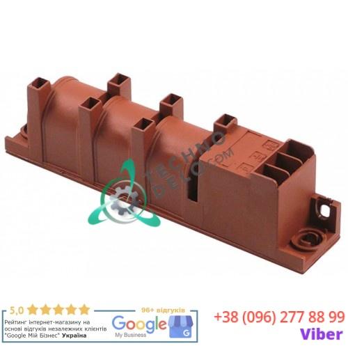 Блок зажигания 1,5VAC 6 выходов 135x23x34мм F6,3x0,8 31002400 5060402388 004251 плиты Bertos, Hendi и др.
