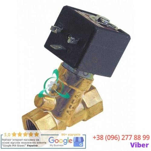 Клапан электромагнитный газовый Asco 1/2 L58мм 230VAC EB01800 для пицца печи OEM SG и др.