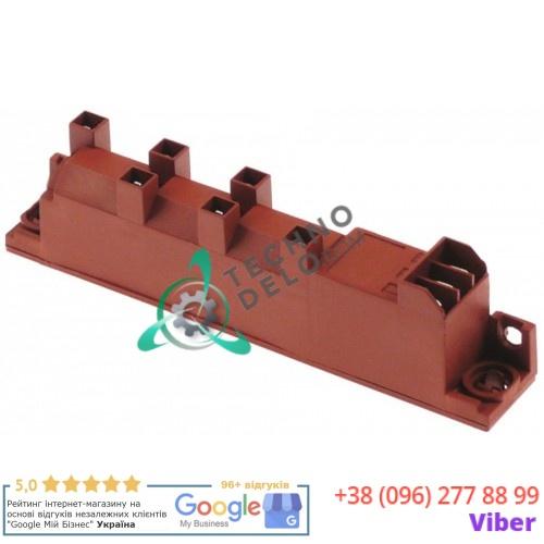 Блок зажигания 6 выходов 230VAC 135x23x34мм 0,6VA 004251 054141 для Ambassade, Angelo Po, Capic, Electrolux