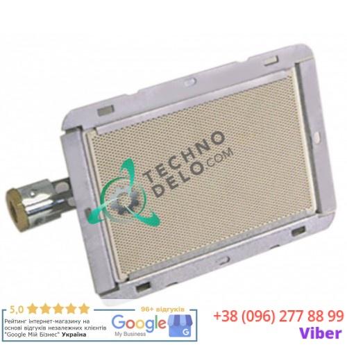 Горелка 160x121мм 1,75кВт PT0005 для гриля Meltem, Potis G1/G2/G3