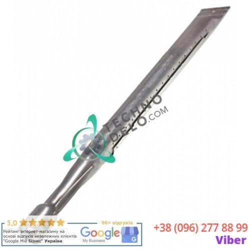 Горелка стержневая ø27мм L-418мм 22275300 / X68046 для духового шкафа Bertos, GIGA, Star10 и др.