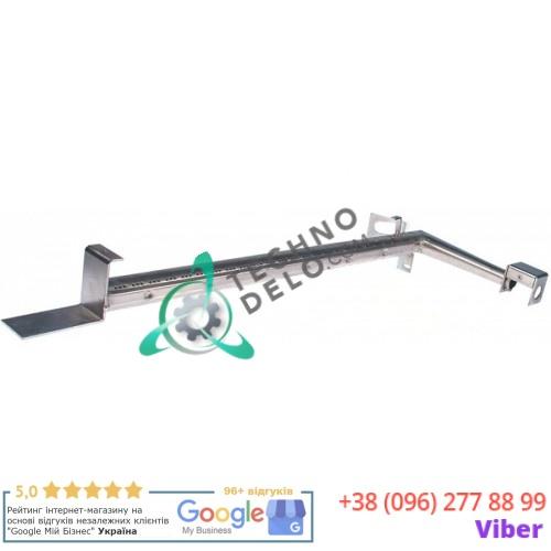 Горелка стержневая гнутая 660x205мм 0A2474 духовго шкафа Alpeninox, Electrolux