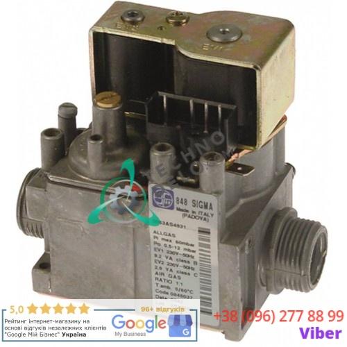 Газовый вентиль SIT Sigma 0.5-12mbar 0.848.037 ZA12-0003 0C1057 для Retigo, Zanussi, Electrolux и др.