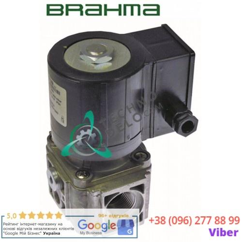 Клапан (вентиль) газовый Brahma L96мм 3/4 CE 63AQ0626 катушка 18813004