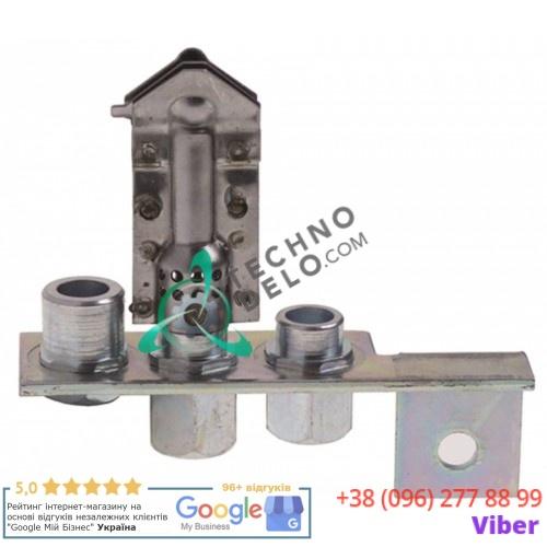 Горелка Polidoro код 37 3-х пламенная природный газ C5810129 для гриля Cooking Systems, Eurast, Macfrin, MasBaga и др.