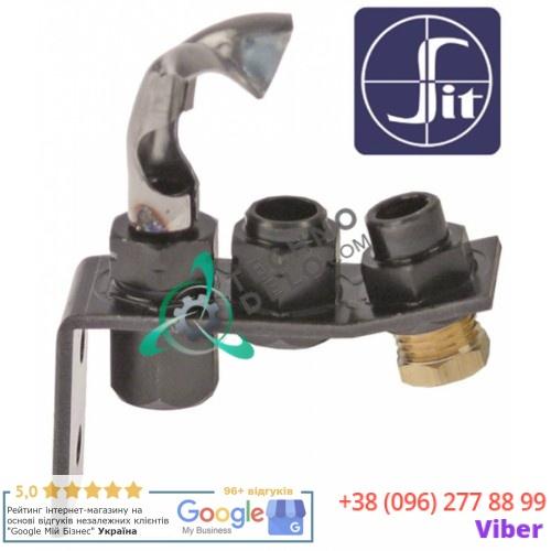 Горелка конфорочная SIT 0.145.010 серия 145 2-х пламенная на право 2200700 для Garland MST47-51R/MST47-51RC и др.