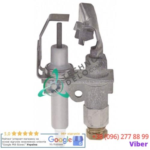 Горелка Honeywell Q348 1/4 3-х пламенная конфорочная природный газ дюза NE22 8071707 фритюрницы Frymaster MJ47