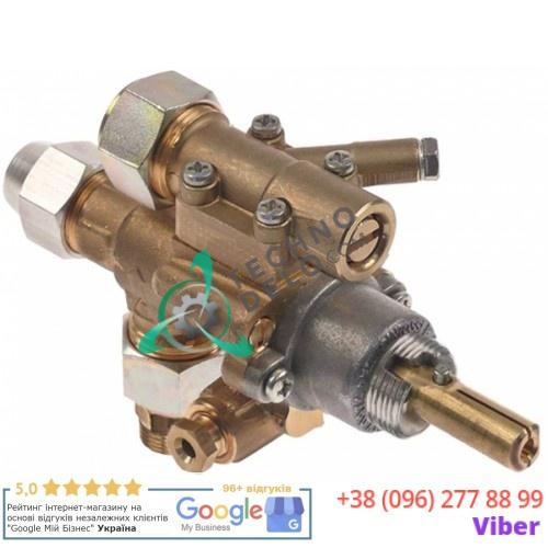 Кран газовый AB A62 M20x1,5 M9x1 M10x1 для Clayovens