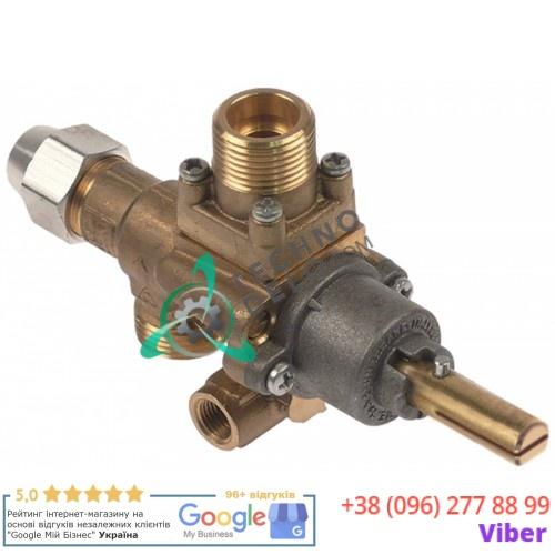 Кран газовый AB A62V M20x1,5 M10x1 для B&S, Tiyan Gas и др.