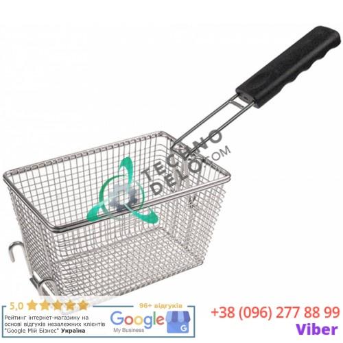 Корзина фритюрницы (размер ёмкости 210-140-125 мм) 016240416 для Bartscher, Horeca-Select и др.