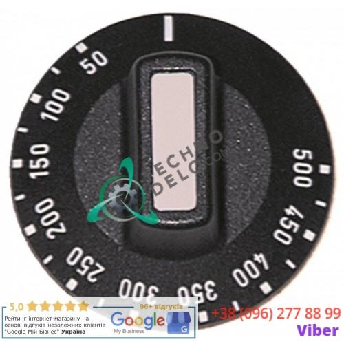 Рукоятка термостата 50-500°C ø50 ось ø6x4,6мм CO3611 81229004 пицца-печи Fimar FM4, FM44, FM6, FM66 и др.