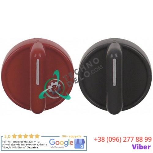 Ручки круглые в комплекте (ø41мм ось ø6x4,6мм) 2304989, 2309024 для оборудования Sammic