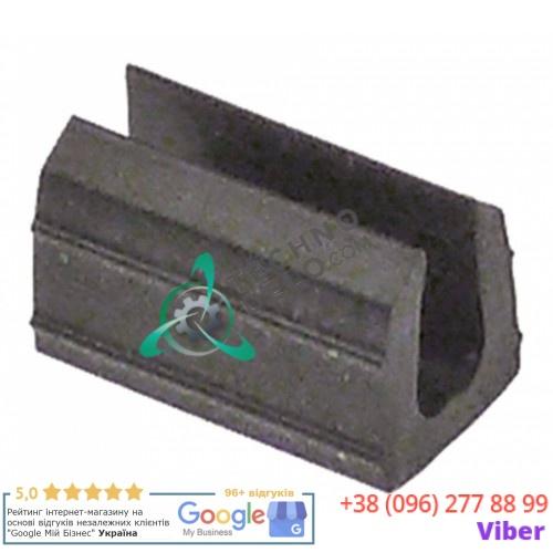 Уплотнитель (вкладыш стекла) в комплекте H-9мм GN1190A0 / GN1240A0 для печи Unox XF013, XF023, XF043 и др.