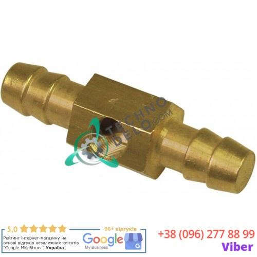 Соединитель шланговый отверстие ø0,4мм резьба 1/8 33Q5901 для манометра пароконвектомата Angelo Po FM423E1, FM423E2