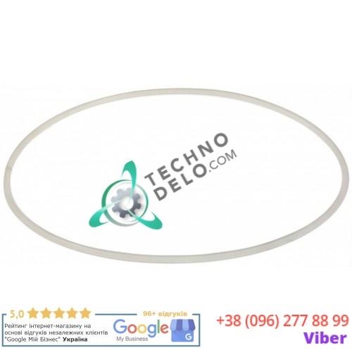 Кольцо PVC уплотнительное ø338мм H-7.3мм M0000106-001 для крышки емкости гранитора Elmeco FC, FIRST-CLASS