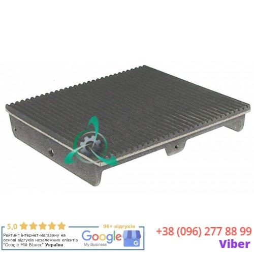 Плита (верхняя рифленая поверхность 250x240мм) B02019 для гриля Roller Grill Majestic, Savoye