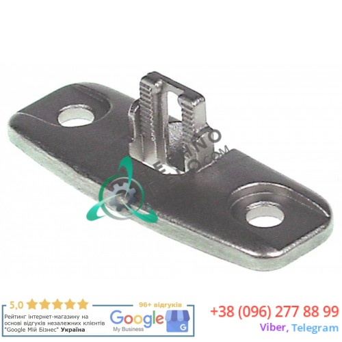 Держатель защелки двери 24.00.141 2400141 для печи Rational CM101, CM102, CM61, CM62, SCC62 и др.