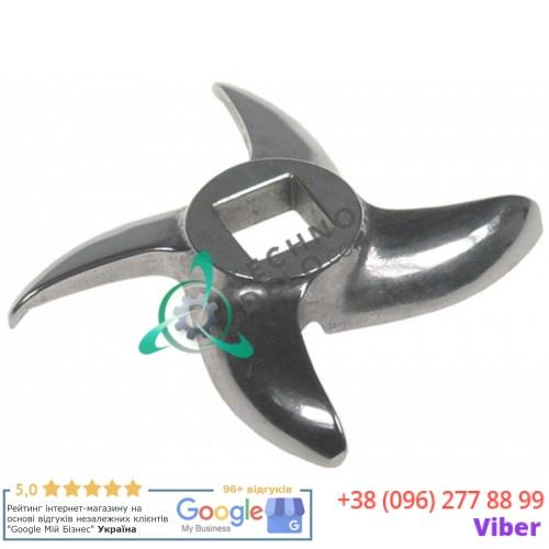 Нож mod.32 Enterprise Ø 90 по окружности / внутр. размер 15x15мм нержавеющая сталь (100005)