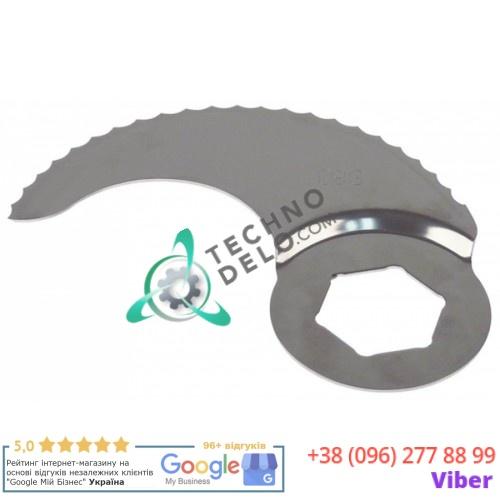 Нож с зубцами 119167 L184мм ø41.5мм куттера Robot Coupe R10/R20