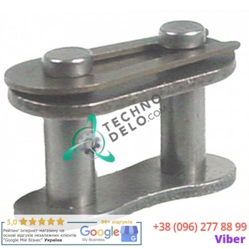 Звено цепи соединительное DIN/ISO 05 B-1 SL1545 для тестомесильной машины Fimar  IM12C/IM12CN/IM12E/IM7S и др.