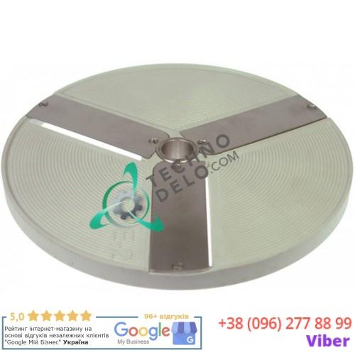 Диск E2 диаметр206 мм толщина нарезки 2 мм 970728 DISCOE2 для овощерезки Celme, Fimar TV, GAM, La Minerva и др.