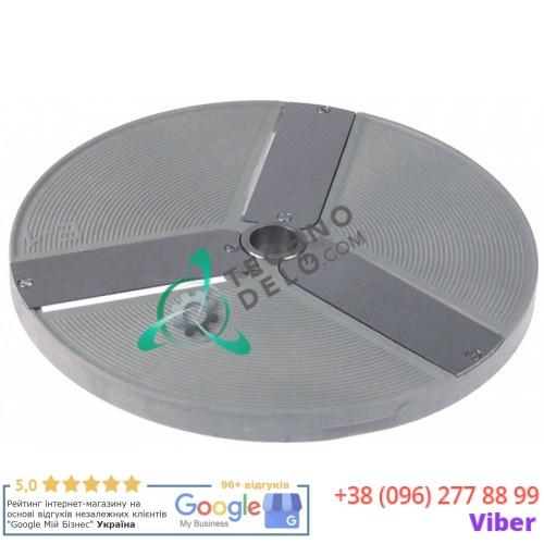Диск E1 DISCOE1 нарезка 1 мм диаметр по окружности 206мм посадочное отверстие 19мм для овощерезки Amitek, Celme, Fimar
