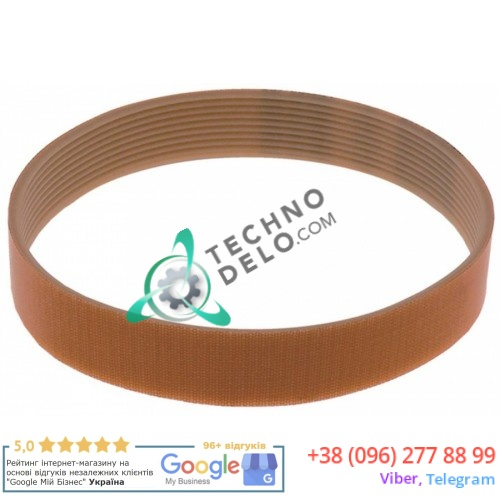 Ремень J-610 для картофелечистки Pasquini PSP700 / 10кг (RIC-CINGHIA-PP10)